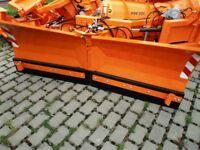 schneeschild schneepflug räumschild Winterdienst Radlader Traktor LKW