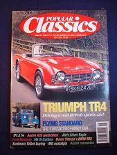 Popular Classics magazine - May 1994 - Triumph TR4 - BMW 635