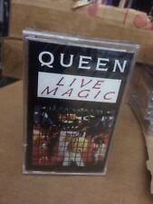 QUEEN LIVE MAGIC FACTORY SEALED CASSETTE  ALBUM H2