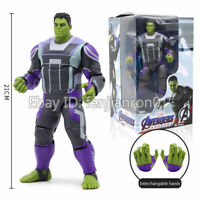 "8"" Quantum Hulk Action Figure Toy Avengers EndGame Bruce Banner  ZD Toys"