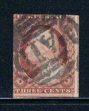 United States -- 1851-57 - 3¢ Washington - Orange Brown - SC 10 - USED 20
