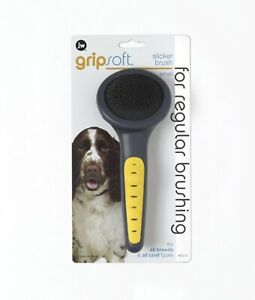PetMate JW Pet GripSoft Slicker Brush for Dogs Small