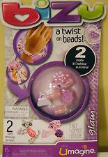 Bizu A Twist On Bead Toy Kit (2 Inside)  Umagine Glam Wirst Craft Girls