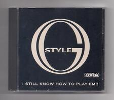 O.G. STYLE - I still know how to play 'em CD SEALED rare 2001 Houston Texas Sage