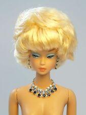 Barbie Repro Vintage FR Handmade Necklace Earrings Rhinestone Jewelry NE100011
