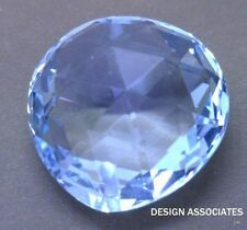 SKY BLUE TOPAZ 14 X 14 MM PEAR BRIOLETTE FRONT DRILLED   ALL NATURAL  AAA