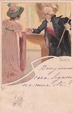 * TOSCA - Metlicovitz - Ed.Ricordi&C.Milano N.69 1900