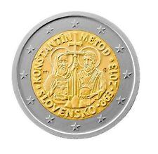 ESLOVAQUIA 2 euros 2013  Constantino y Metodio en la Gran Moravia SLOVAKIA