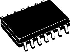 Ts324cs Taiwán semiconductores Quad Op Amp * 2500/reel