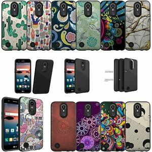For LG Aristo 2 Rebel 3 Tribute Dynasty Slim Embossed Texture Case - Patterns