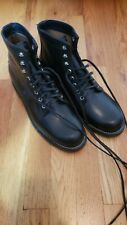 Black Chippewa 1939 Service Boots Men's Size 9D Never Worn