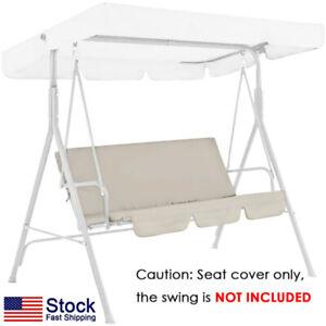 Swing Cover Chair Waterproof Cushion Patio Garden Yard Outdoor Seat Replacement~