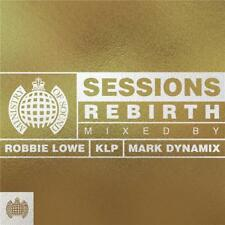 MINISTRY OF SOUND SESSIONS REBIRTH VARIOUS ARTISTS 3 CD DIGIPAK NEW