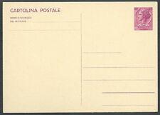 1967 ITALIA CARTOLINA POSTALE SIRACUSANA 40 LIRE - F