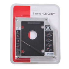 Universal SATA 2nd SSD HDD Hard Drive Caddy For 12.7mm CD/DVD-ROM Optical Bay