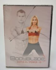 BodyBlade Super 6 / Power 10 DVD New