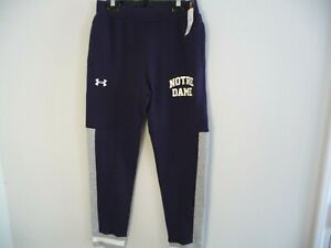Under Armour Notre Dame Fighting Irish youth medium YMD tapered pants jogger boy