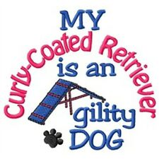 My Curly-Coated Retriever is An Agility Dog Short-Sleeved Tee - Dc1888L