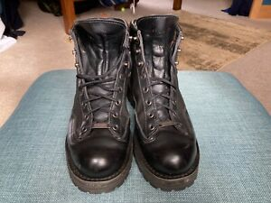 Men's Danner Acadia black leather and Gortex fabric boots