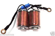 Tattoo Power Coils & Capacitor Ready Made Choose Colour And Size - UK SELLER