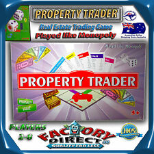 Property Trader! Monopoly Game Real Estate Property Trading Board Game School