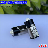 DC 3V-6V 150RPM Slow Speed Micro 10mm M10 Planetary Gearbox Gear Motor Robot Toy