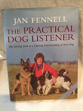 Signed First Edition The Practical Dog Listener Jan Fennell
