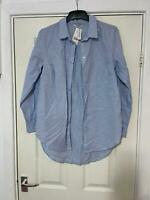 George Blue Shirt Size 12 Womens Long Sleeve (H691)NEW!!!