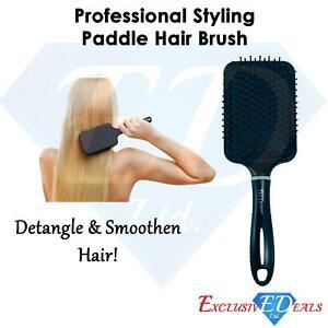Professional Large Paddle Hairbrush Tangle Free Massage Cushion Comb Brush UK