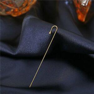 Fashion Women Crystal Zircon Ear Wrap Crawler Hook Climber Pearl Cuff Earrings