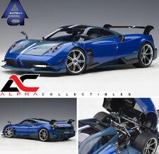 AUTOART 78277 1:18 PAGANI HUAYRA BC BLUE FRANCIA / CARBON SUPERCAR