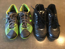 2 Pair 1Y Cleats Under Armour Force 1266878 Nike 375768 Expandtech