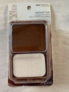 CoverGirl Queen Collection Natural Hue Compact Foundation #Q545 Spicy Brown Rare
