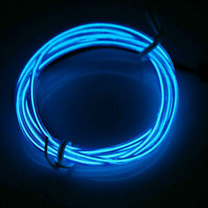 Neon LED Light Lamp Glow EL Wire String Strip Rope Tube Decor + USB Controller
