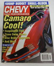 Chevy High Performance Magazine Camaro Suspension Tips January 2000 080714R