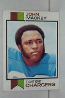 1973 Topps #118 John Mackey HOF San Diego Chargers / Colts / Syracuse