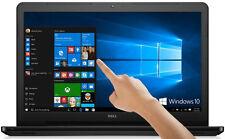 "DELL Inspiron 15.6"" TouchScreen Laptop Intel Core i3 6GB 500GB DVD+RW Windows 10"