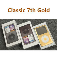 🔥🔥 New Apple ipod Classic 7th generation  160GB MP3 (Gold)- The Best Choice