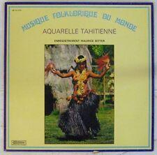 Aquarelle Tahitienne 33 tours Musique Folklorique du Monde