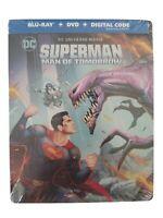 Superman: Man of Tomorrow Limited Edition STEELBOOK (Bluray/DVD) NO Digital