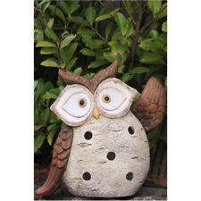 chouette pour bougie ou photophore décoration Hibou Oiseau Figurine bol-730299a
