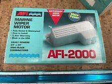 New 0250p17 Afi 36210 Afi 2000 Heavy Duty Waterproof Marine Wiper Motor