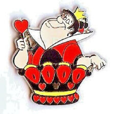 QUEEN Of HEARTS Alice CHESS Collection 2008 CAST HIDDEN MICKEY Disney PIN 59816