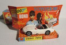 1967 JAMES BOND 007 Toyota 2000GT CORGI 336 MIB C-6.5 in Original Box