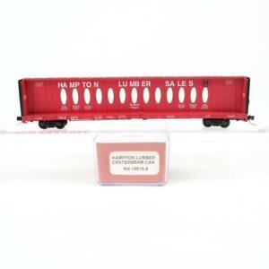 Red Caboose Hampton Lumber Sales CRLE 73' Centerbeam Car RN-16615-6 N Scale