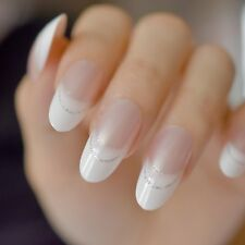 Fake Nails Press On Ladies Fingers DIY Decoration Elegant Pre-Designed Long Nail