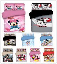Cartoon Bedding set Duvet cover Comforter Cover Pillowcase Children all size