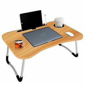 Multipurpose Foldable Laptop Table with Foldable and Portable/Ergonomic & Rounde