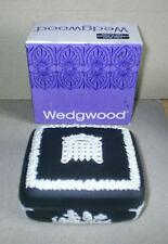 Wedgwood Jasperware Black Square Parlimentary Box