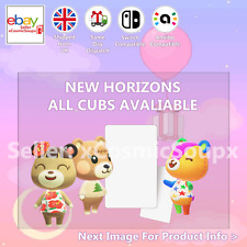 All Cubs Animal Crossing Custom NFC Amiibo Compatible Card New Horizons